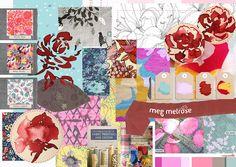 blog mood board for #bywbootcamp www.megmelrose.blogspot.com.au