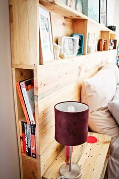 DIY headboard with shelves headboard storage unit best headboards with storage in .DIY headboard with shelves headboard storage unit best headboards with storage in DIY headboard storage collections for your perfect bedroomPhenomenal DIY Headboard With Shelves, Bed Shelves, Storage Shelves, Shelving Above Bed, Diy Headboard With Lights, Craft Shelves, Plywood Storage, Diy Bett, Headboard Designs