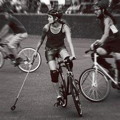 bicycle polo, nyc