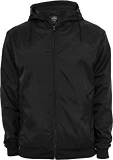 Urban Classics Mens Windbreaker Jacket S Black Windbreaker Jacket, Hooded Jacket, Brave, Mens Lightweight Jacket, Urban Surface, Madonna Mode, Urban Classics, Mens Fashion, Casual