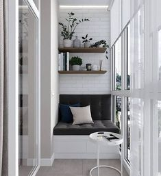 Cool Gorgeous Small Apartment Design With Amazing Interior Small Balcony Design, Small Balcony Decor, Small Apartment Design, Apartment Balcony Decorating, Apartment Balconies, Small Apartments, Interior Decorating, Interior Design, Balcony Ideas