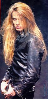 Sebastian Bach,Skid Row-I met him,he is that beautiful in person!