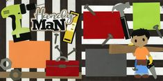 handyman1020 Scrapbook Pages, Scrapbooking, Creative, Scrapbooks, Smash Book Pages, Memory Books, Scrapbook, Notebooks