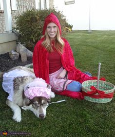 Little Red Riding Hood & Big Bad Wolf!