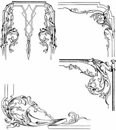 art nouveau lettering - Google Search