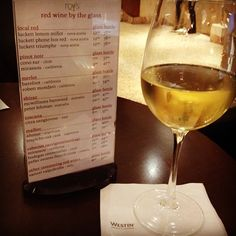 Perfect afternoon for a relaxing beverage in Roy's Lounge. #westin #halifax #humpday #fall #lounge #travel #winewednesday #wine #whitewine #hotel