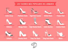 Tus zapatillas, tu estilo #pump #Platform cone #PeepToe #T´Strap #OpenToe #D´Orsay #Stiletto #MujerPradaMX
