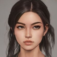 Digital Art Girl, Digital Portrait, Portrait Art, Character Portraits, Character Art, Character Design, Storyboard Drawing, Fanart, Female Character Inspiration
