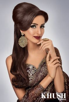 Hair Styling Glamorous Bridal Makeup N Hairstylingkashif Aslam At Kashee's Beauty