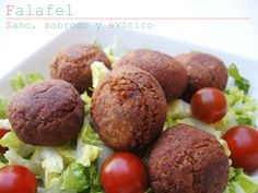 recetas de tía Alia: Falafel