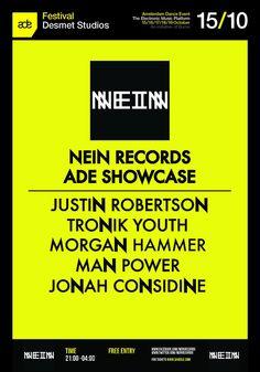 15 OKT ADE14   Nein Records Showcase   Desmet Sudios