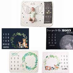 Plant Cartoon, Baby Milestone Blanket, Monthly Photos, Flannel Blanket, Photo Blanket, New Moms, Backdrops, Wings, Kids Rugs