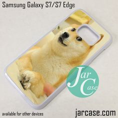 Cute Dog Phone Case for Samsung Galaxy S7 & S7 Edge