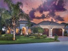 Naples Hot Properties - Florida Golf Home - beautiful sky and sunset