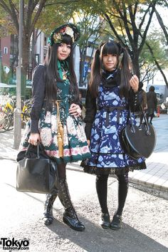 Harajuku Lolitas in Alice & The Pirates