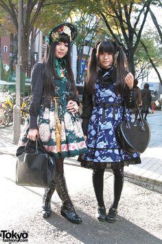 waloli, Japanese style lolita