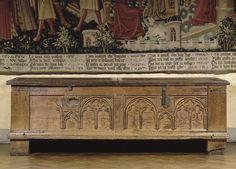 Coffre de Poissy, entre 13e et 14e - Musée de Cluny