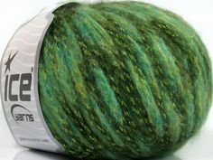 Twinkle Wool Green Shades at Yarn Paradise
