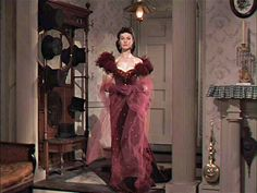 Trying to make Scarletts character more to the taste of Clark Gable, director Victor Fleming had Vivien Leighs breasts taped together for the illusion of cleavage while wearing the famous red dress.