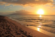 Ka'anapali Sunset, Hawaii