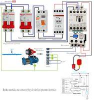 Esquemas eléctricos: Esquema eléctrico bomba monofásica más contactor y...