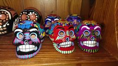Love these painted skulls