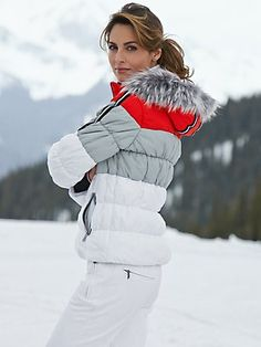 Fine luxury ski clothing, high-end apparel, ski wear and cashmere sweaters for the luxurious mountain lifestyle at Gorsuch Snow Fashion, Winter Fashion, Apres Ski Outfits, Ski Bunnies, Alpine Style, Snow Wear, Ski Gear, Winter Gear, Equestrian Outfits