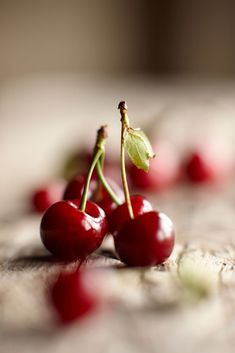 I remember when I was little I ate so many cherries on Christmas Eve that I made myself sick & couldn't eat at all on Christmas Day. I still love cherries though ;)