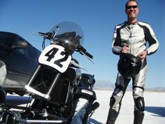 Tilting Motor Works inventor, Bob Mighell, breaks 2 landspeed records at the Bonneville Salt Flats with his converted VMAX.  #trike #conversionkit #yamaha #vmax #bonnevillesaltflats #tiltingmotorworks