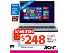 Walmart Reveals New Entry in Black Friday Laptop Deals