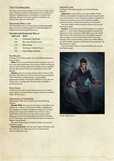 Otherworldly Patron: The Voidwalker - Warlock patron inspired by Dishonored : UnearthedArcana Dungeons And Dragons Rules, Dungeons And Dragons Classes, Dnd Dragons, Dungeons And Dragons Homebrew, Warlock 5e, Warlock Class, Dnd Stories, Dnd Classes, Dnd Races