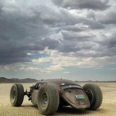 Post-Apocalyptic Vehicle Rat Rod Car | 'Nux would be proud' - submitted by Deathcouch