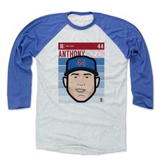 Anthony Rizzo Fade B Chicago C Officially Licensed MLBPA Baseball T-Shirt Unisex S-3XL