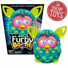 Furby Boom Peacock Figure by Hasbro #KohlsDreamToys