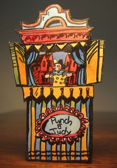 long lost artwork for toy-theatres – Clive Hicks-Jenkins' Artlog: