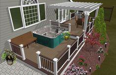 deck fencing ideas | Fun Deck - Decks & Fencing - Contractor Talk