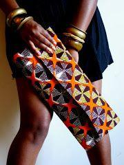 ♥African Fashion ■ Cool Clutch i m gonna make a clutch in an african print African Inspired Fashion, African Print Fashion, Africa Fashion, Fashion Prints, African Prints, Ankara Fashion, African Attire, African Wear, African Dress