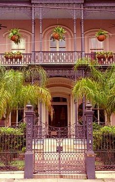 New Orleans, Louisiana doorway | Door Knockers of New Orleans LA. Photographer ~ Miguel Solorzano