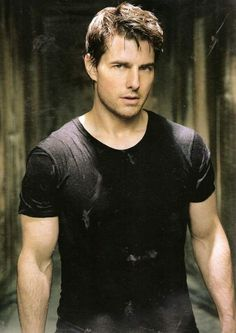 Tom Cruise - love watching this guy sprint after bad guys in Mission Impossible