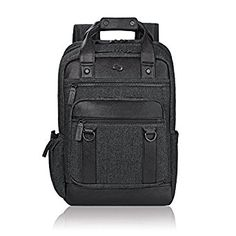fa5d01dcb6c Solo Bradford Executive Collection Laptop Backpack BlackGray by Office Depot  & OfficeMax