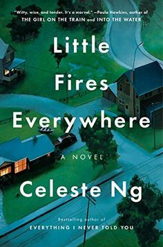 15 Reese Witherspoon book club books from 2018, including Little Fires Everywhere by Celeste Ng. Filled with great book club ideas for women!