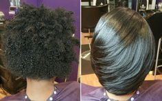 How To Get Straightened Hair Laid Like It's a Relaxer Read the article here - http://www.blackhairinformation.com/by-type/natural-hair/get-straightened-hair-laid-like-relaxer/