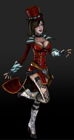 Borderlands 2 -- Mad Moxxi Cosplay Costume Version 01