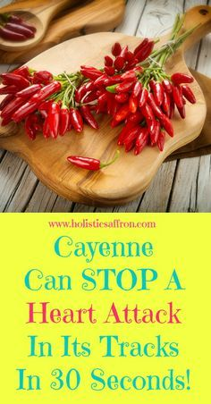 Cayenne Pepper Can STOP A Heart Attack In Its Track In 30 Seconds