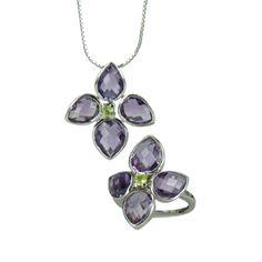 Moore Jewels' amethyst and peridot jewellery