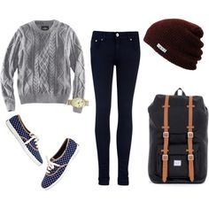 YES!!! I love this combo (especially with the neff beanie  ;D)