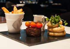 #ShortBreak, #Hilton #Manchester Deansgate. An innovative take on a classic dish.
