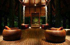 Welcome Pavillion. Maia Luxury Resort and Spa, Seychelles. © Maia Luxury Resort and Spa, Seychelles
