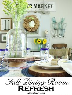 Fall Dining Room Ref