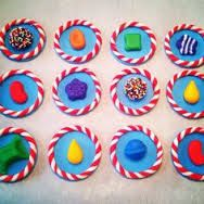 candy crush cupcake toppers - Google Search